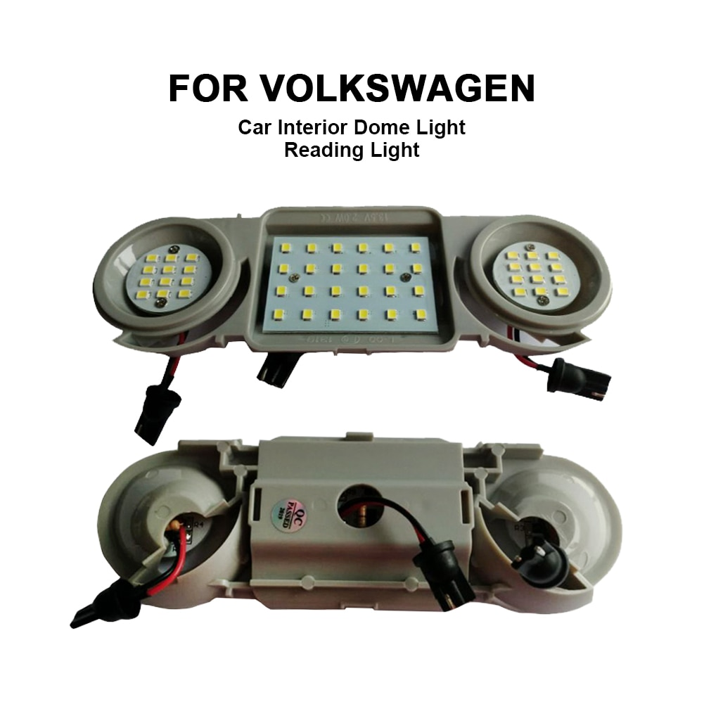LED Car Interior Dome Roof Light Reading Lamps