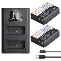 2 шт., аккумуляторы для камер LP-E10 LP E10 LPE10 и светодиодный ное USB зарядное устройство для Canon 1100D 1200D 1300D 2000D Kiss X50 X70 Rebel T3 T5.