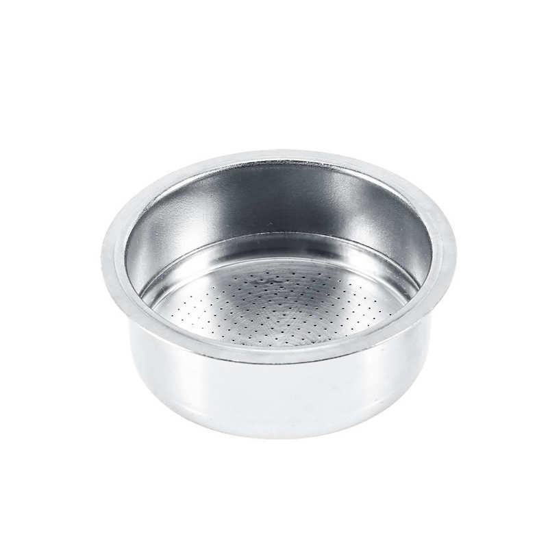 Фильтр для кофе из нержавеющей стали, 2 чашки, фильтр под давлением, сетчатый фильтр, детали для домашней кухонной кофеварки