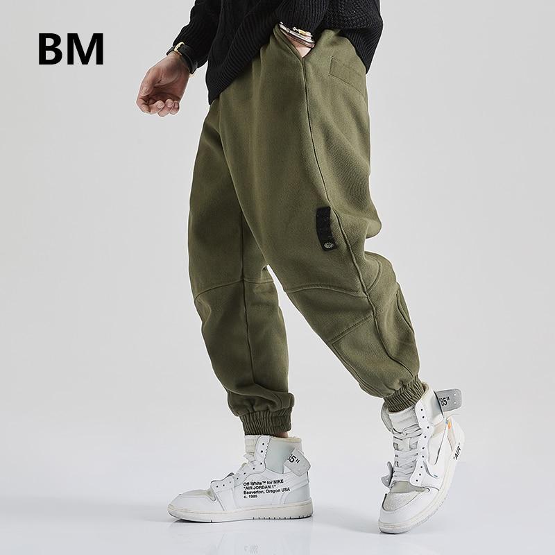 2021 Streetwear High Quality Harajuku Casual Sports Pants Male Korean Slim Joggers Hip Hop Sweatpants Fashion Clothes Men