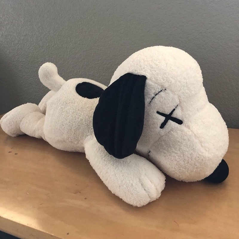 Adorável dos desenhos animados snoopy boneca de pelúcia brinquedos grande snoopy boneca cão brinquedo de pelúcia animais dia dos namorados casamento criança crianças presente de aniversário