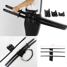 1/2/3 Medieval Sword Holder PU Leather Sword Belt Waist Sheath Adult Men Knight Battle Weapon Rapier Ring Belt Strap Holster