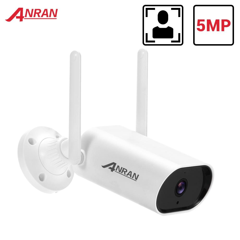 ANRAN 5MP IP камера WIFI камера безопасности 1920P камера наружного наблюдения камера видеонаблюдения двухсторонняя аудио Водонепроницаемая камера...