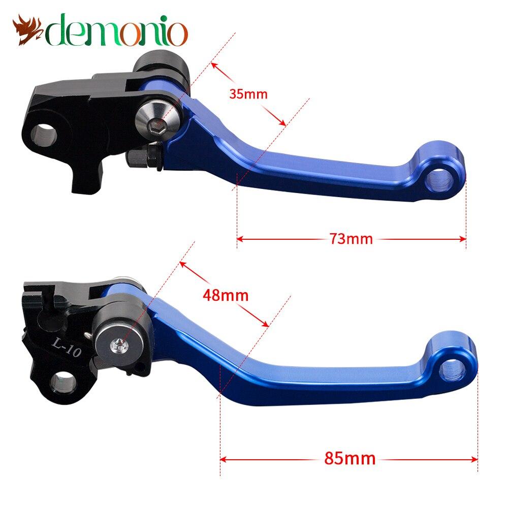 Pivot Handle Lever Brake Clutch Levers For YAMAHA WR250F 2005-2016 WR450F 2005-2015 WR 250F 450F 250 450 F 2014 2013 2012 2011