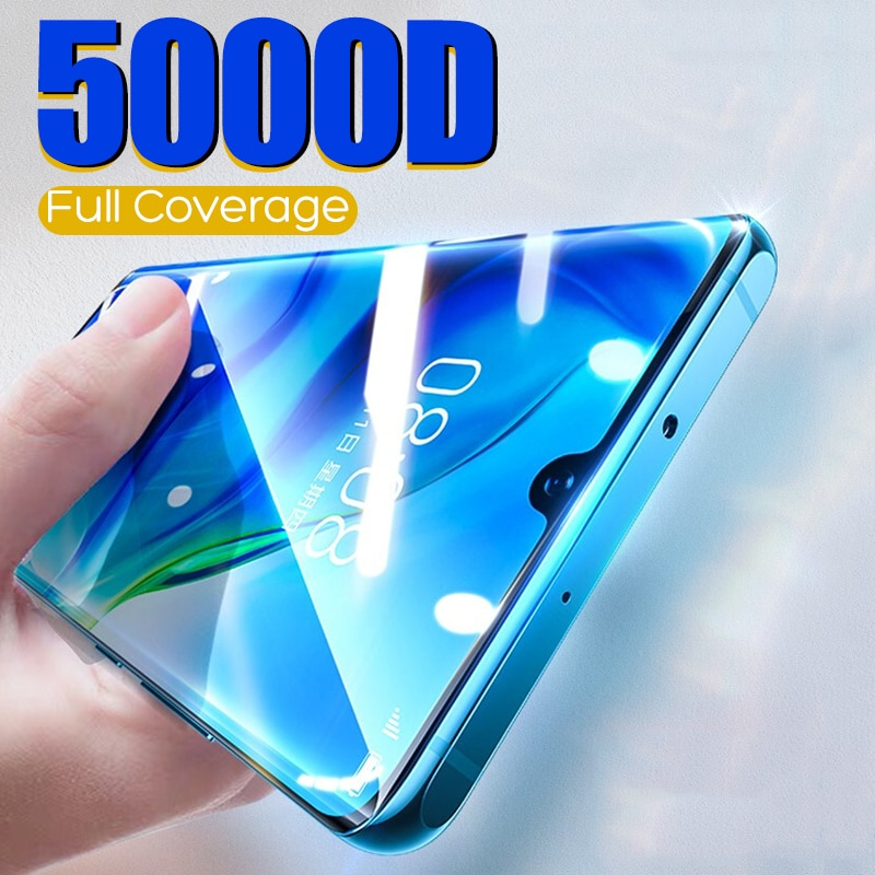5000D Screen Protector Soft Hydrogel Film Full Protective Film Cover for LG Q61 Stylo 6 K61 Dual SIM Not Glass