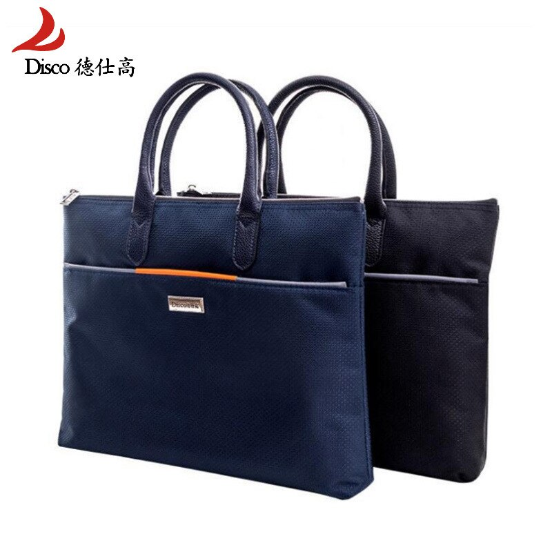 Business Documents Office Zipper Bag Portable Envelope Bag Canvas Briefcase Sac Bandouliere Homme Bolsa Masculina Bag for Men