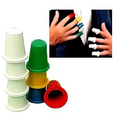 Pro Kauschen set (Multicolor, 8 pairs) magie Tricks Bühne Cose Up Magia Illusion Gimmick Requisiten Erscheinen Flucht Magie Magica