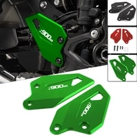 motorcycle accessories footpeg footrest rear set heel plates guard protector for kawasaki z900rs 2017 2018 2019 2021 z900 rs