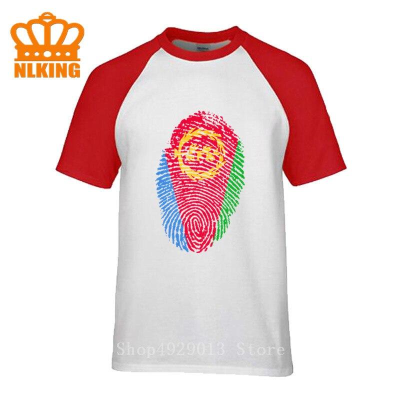 Ethiopia Ethiopian mens t shirts jerseys nation Fingerprint team cotton Mens t-shirt Rasta clothing tops tees country sporting