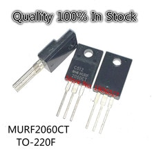 10PCS/PCS   MURF2060CT  20A 600V  TO-220F    Fast recovery diode