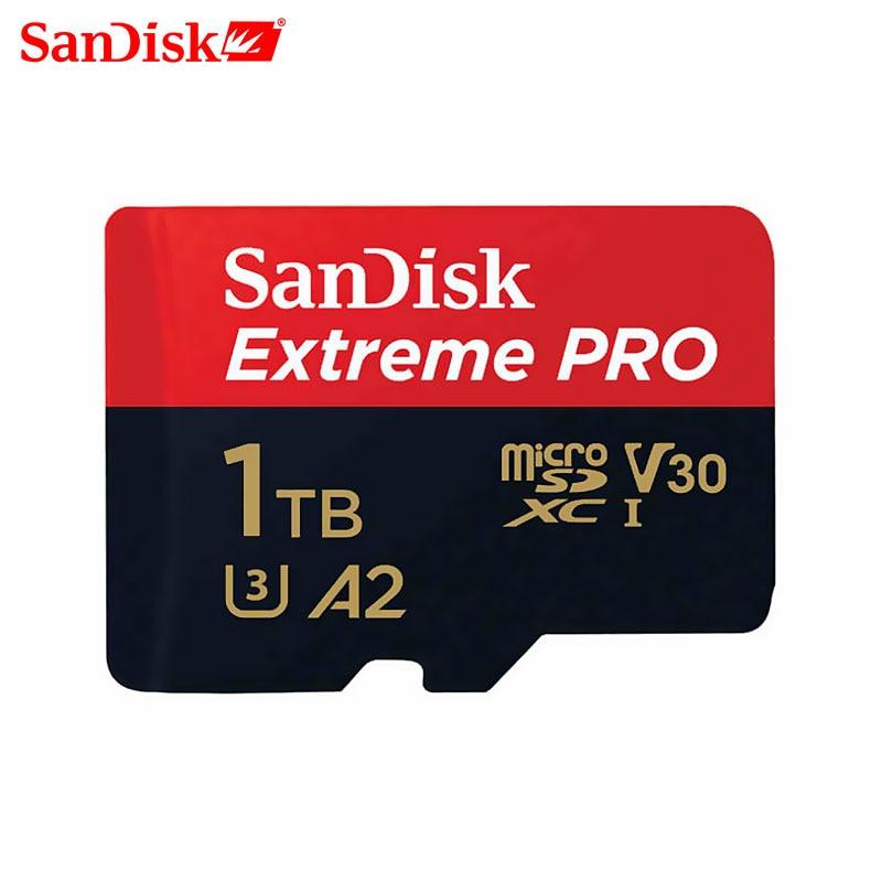 SanDisk Extreme Pro micro sd 64GB 128GB 1TB Memory Card 512G class 10 cartao de memoria U3 A2 V30 1TB tf flash card for gopro