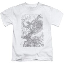 Pencil Batarang Throw Unisex Youth Juvenile T-Shirt for Girls and Boys