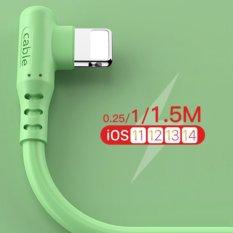 1m 1.5m USB Cable For iPhone 12 11 Pro Max X 5 6 S 6S 7 8 Plus iPad Fast Charge Origin Long Data Charger Wire Mobile Phone Cord