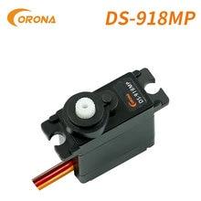 Corona DS918MP 1.8g 0.06sec 9g Digital Metal Gear Mini Servo for Hobby Robotics Education Industrial