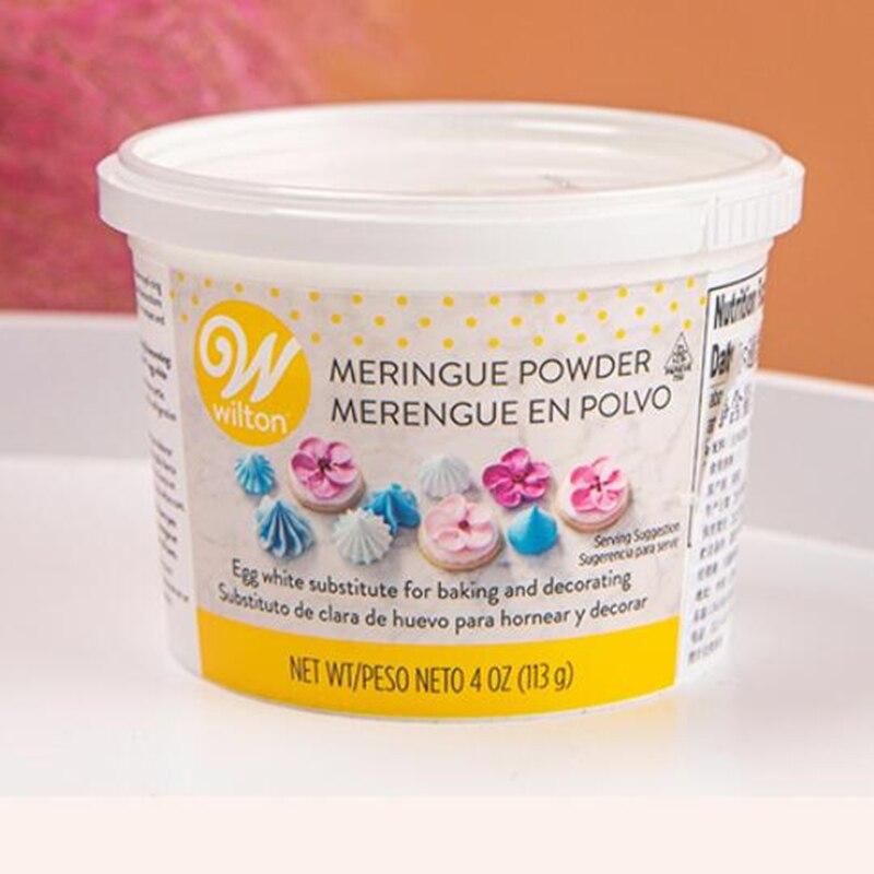 Wilton Protein Cream polvo de huevo blanco, polvo de grado alimenticio, macarrón, Fondant, galletas, ingredientes para hornear