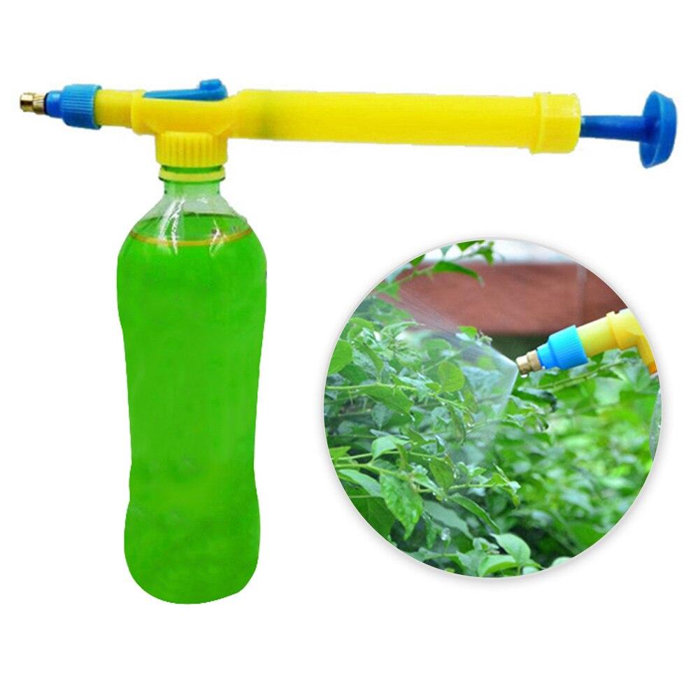 Planta de irrigação por gotejamento ferramentas jardim plástico trole gun mini manual cabeça pulverizador pesticidas bonsai pressão bombas de ar