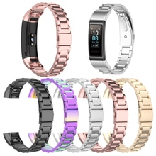 Band Smart Armband edelstahl Metall Armband Band für Huawei Band 4 Pro,Huawei Honor Band 4/5