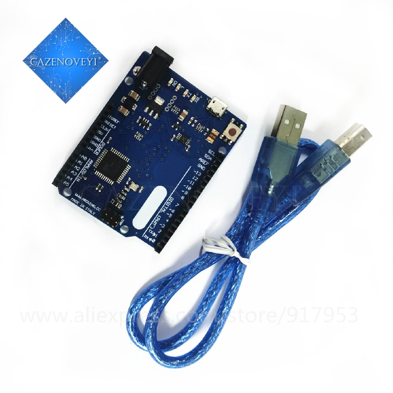Leonardo Atmega32u4 R3 Microcontrollore Scheda di Sviluppo con Il Cavo Usb Compatibile per For Arduino Fai da Te Starter Kit