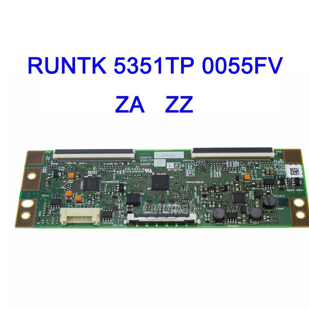 Latumab המקורי T-קון היגיון לוח RUNTK 5351TP 0055FV ZA ZZ עבור LCD LED טלוויזיה בקר לוח היגיון לוח