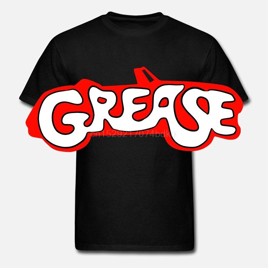 Camiseta estampada de algodón con cuello redondo para hombre Camiseta de manga corta con Logo de grasa para mujer