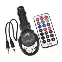 Reproductor MP3 4 en 1 para coche, transmisor inalámbrico de FM, modulador USB SD CD MMC, transmisor inalámbrico estéreo integrado para coche, reproductor MP3