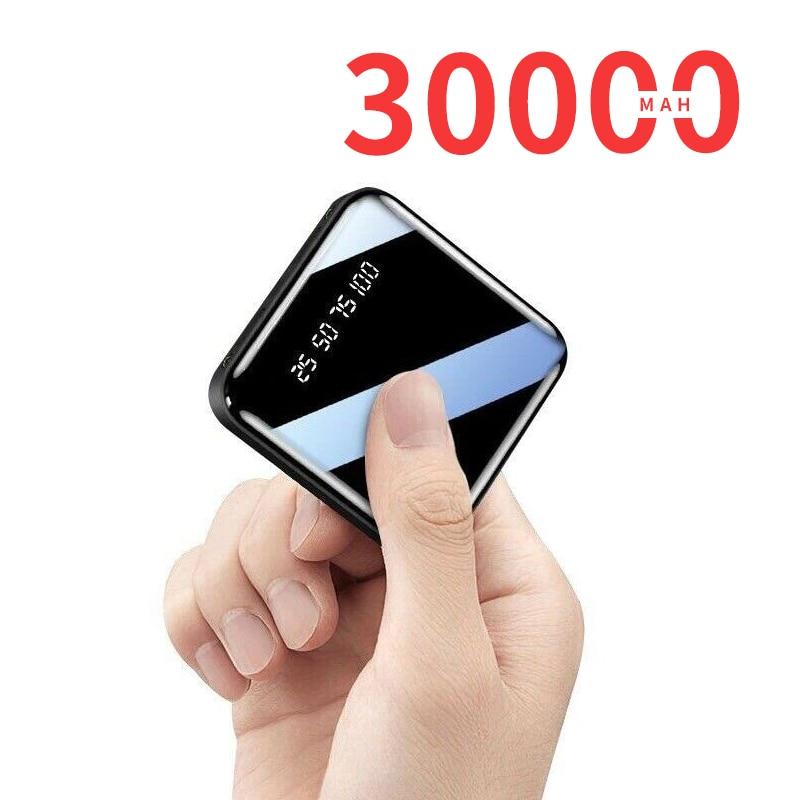 بنك الطاقة BPIN 30000mAh المحمولة شحن الهاتف المحمول بطارية خارجية شاحن باوربانك سريع