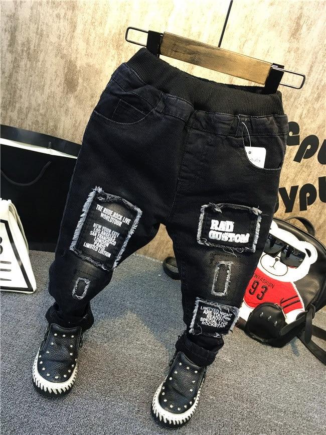 Детские брюки, зимние утепленные джинсы для мальчиков, весенние повседневные брюки для маленьких мальчиков, модная детская одежда, джинсы для мальчиков, детские брюки Джинсы    АлиЭкспресс
