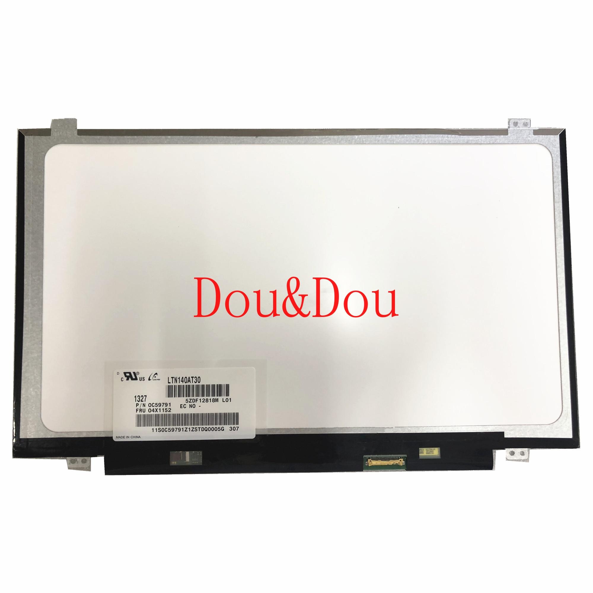 LTN140AT30 LTN140AT30-L01 NT140WHM-N41 N31 B140XTN02.A HB140WX1-301 401 501 601 شاشة لاب توب LCD 1366*768 EDP 30 دبابيس