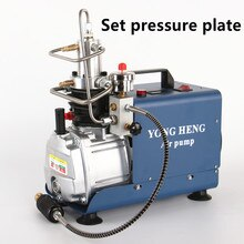 300BAR 30MPA 4500PSI Electric Air Compressor High Pressure Air Pump for Pneumatic Airgun Scuba Rifle PCP Inflator 220v 110v