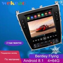 Wekeao-écran Vertical de 10.4 pouces Tesla Style 1   Autoradio, Din Android 8.1, Bentley Flying, Auto GPS, Navigation, dvd automotivo