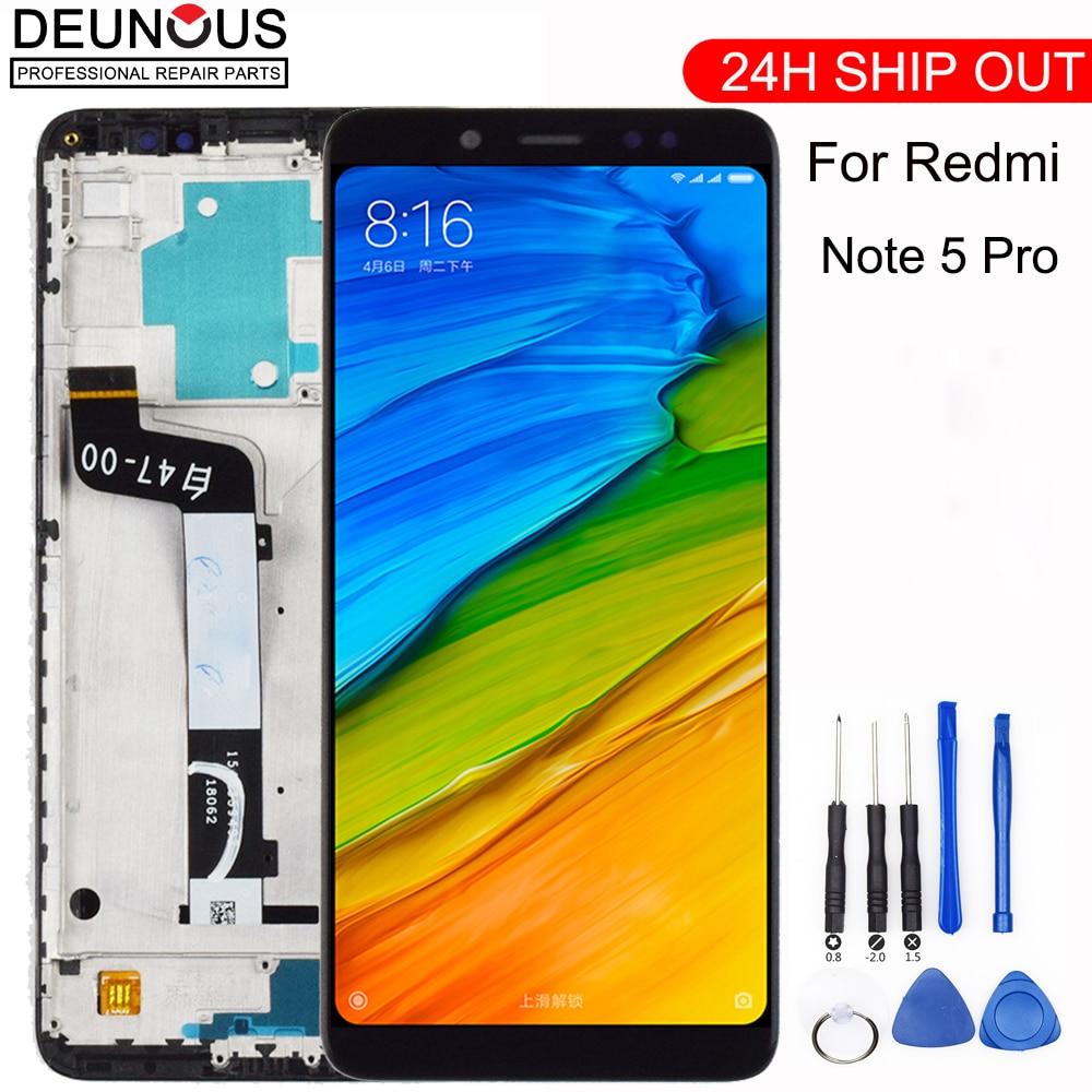 Neue Für Xiaomi Redmi Hinweis 5 Pro LCD Display Touch Screen Panel Test Gute Digitizer Montage Ersatz Für Xiaomi Redmi note 5