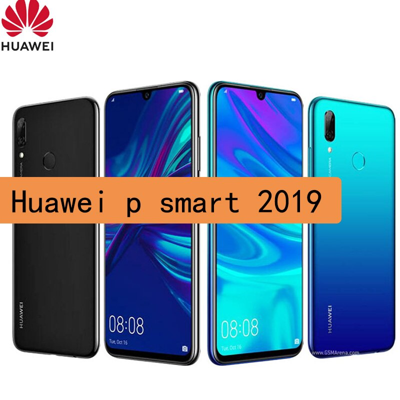 original celular huawei p smart 2019 smartphone Android Kirin 710 6.21 inches 1080 x 2340 pixels Mobile phone