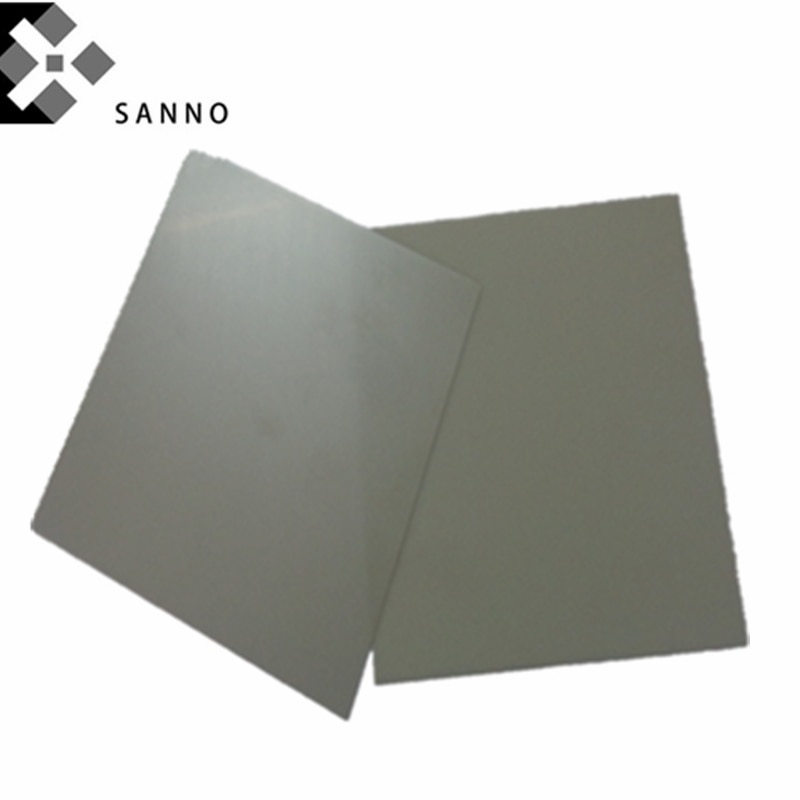 1 teile/paket Aluminium nitrid ALN isolierte platten anpassen 0,25mm-2mm dicke keramik substrat blatt mit größe 114x 114mm