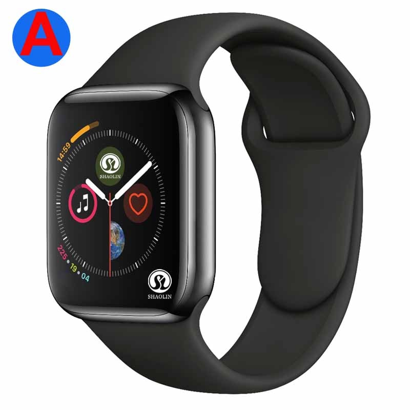 A Smartwatch Series 4 Bluetooth Smart Watch Men with Phone Call Remote Camera for IOS Apple iPhone A