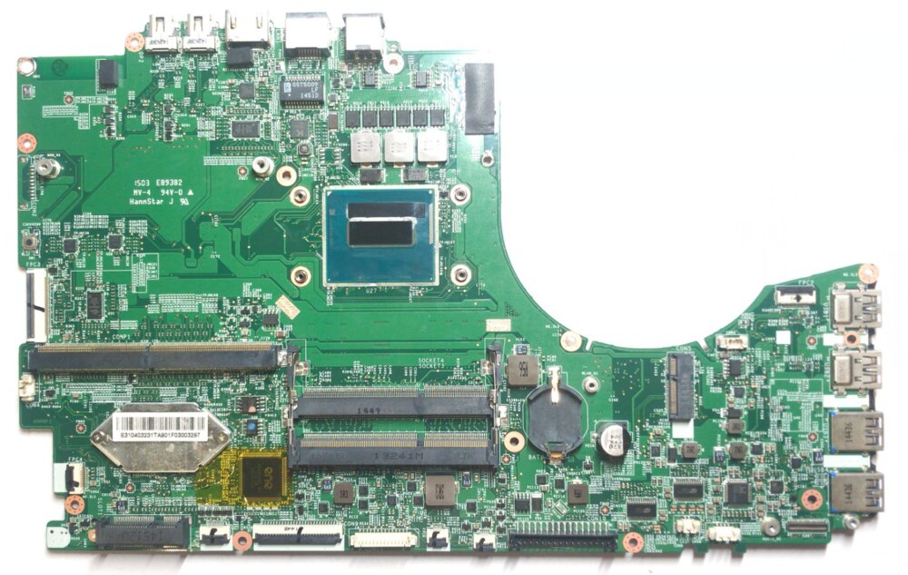 SHELI ل MSI GT72 MS-1781 دفتر اللوحة MS-17811 VER 1.0 CPU I7 4710HQ DDR3 100% اختبار العمل
