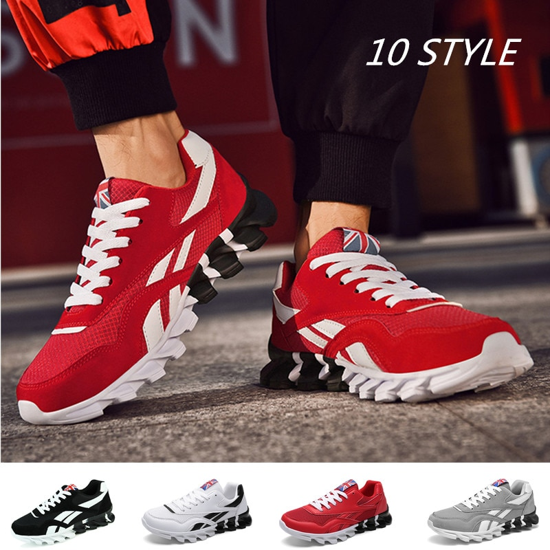 Unisex Casual Sports Sneakers Light Men's Running Shoes Women Tenis Trainers Jogging Gym Training Shoes Lace-up