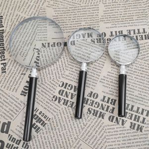 Portable Magnifying Glass Handheld Magnifier High Definition Reading Eye Loupe