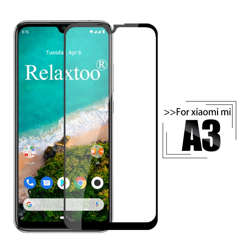 Tempered glass For xiaomi mi a3 screen protector For xiaomi mi a3 lite Protective glas xiomi xaomi mia3 A 3 display safety Film