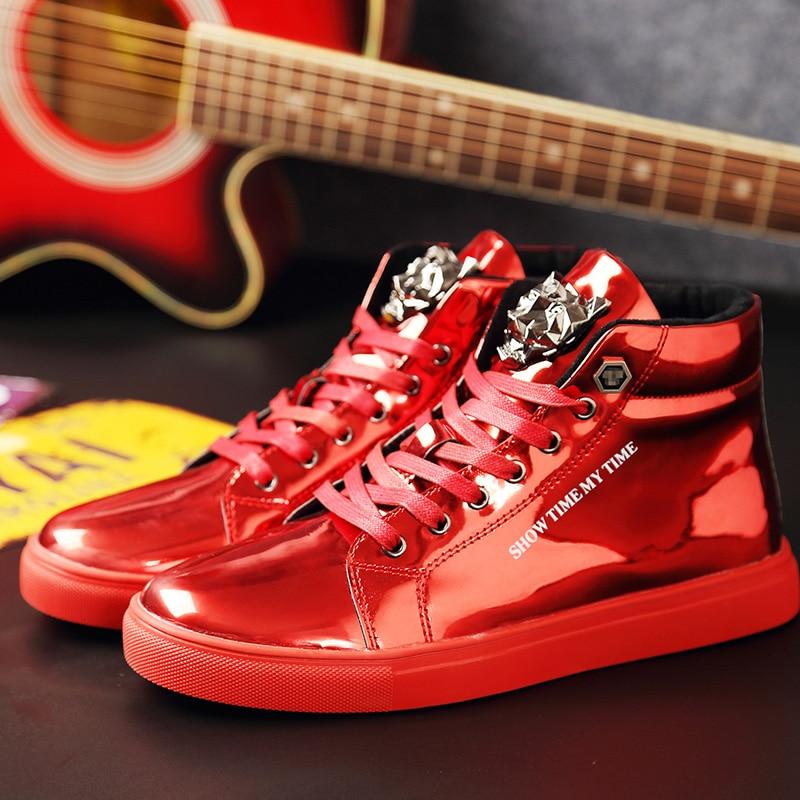 Nuevos zapatos informales para hombre, cómodos zapatos deportivos transpirables, lentejuelas, calzado de ocio, zapatillas de Size37-47 grandes, zapatillas de deporte para hombres, tendencia de ocio