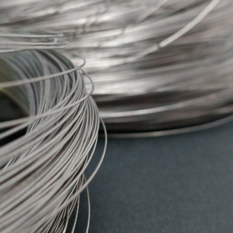 0.5mm x 10m Titanium Round Wire Grade 1 (99.99%)