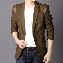 Nova Moda Casual de Algodão Fino Plus Size 4XL 5XL 6XL Coreia Do Estilo Terno Blaser Masculino Masculino Jaqueta Blazer Dos Homens