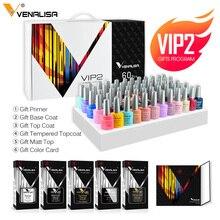 2020 neue 60 mode farbe Venalisa gel polnischen emaille vernish farbe gel polnisch für nail art design ganze set nagel gel lernenden kit