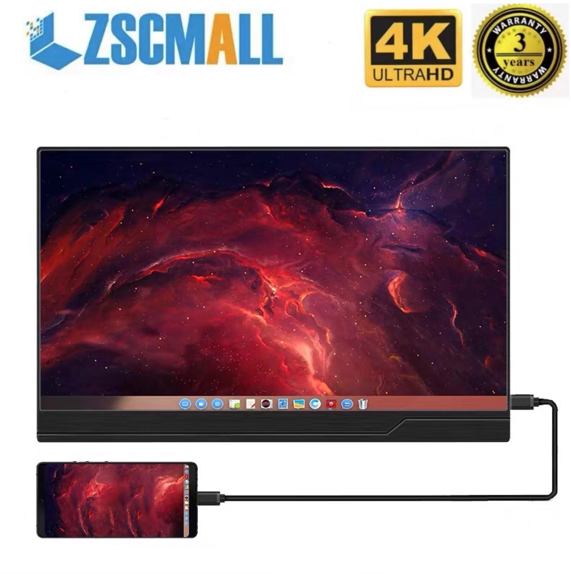 Monitor portátil pantalla 15,6 4 4K Monitor Ultra ligero y ultrafino para juegos pantalla IPS1080p para ordenador portátil PS4