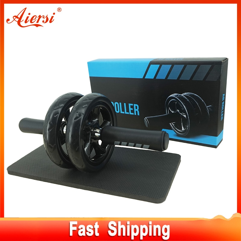 Aiersi AB Roller No Noise Non-slip Abdominal Wheel With Mat For Home Gym Exercise Fitness Equipment