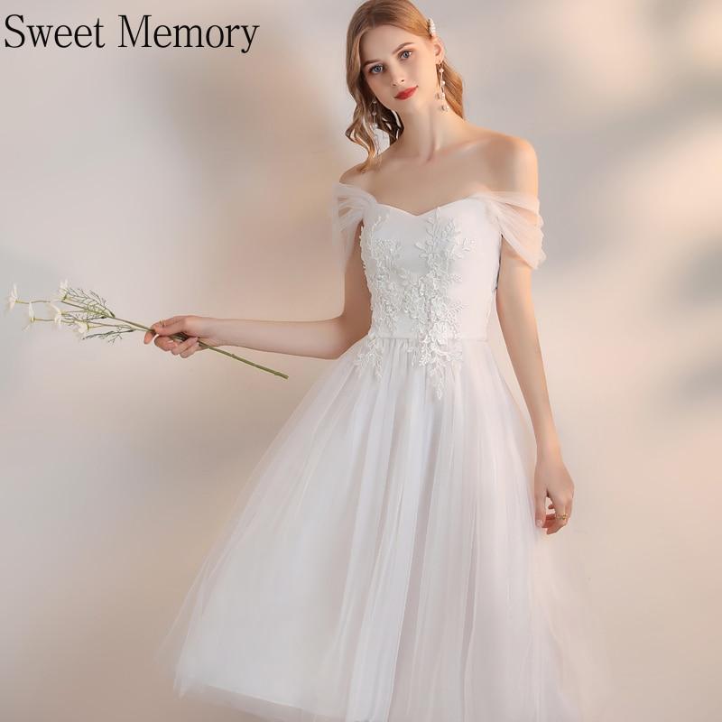 J149-فستان زفاف قصير من التول ، فستان زفاف من الدانتيل ، وردي وأبيض ، مع ذاكرة جميلة ، لحفلات التخرج ، 2021