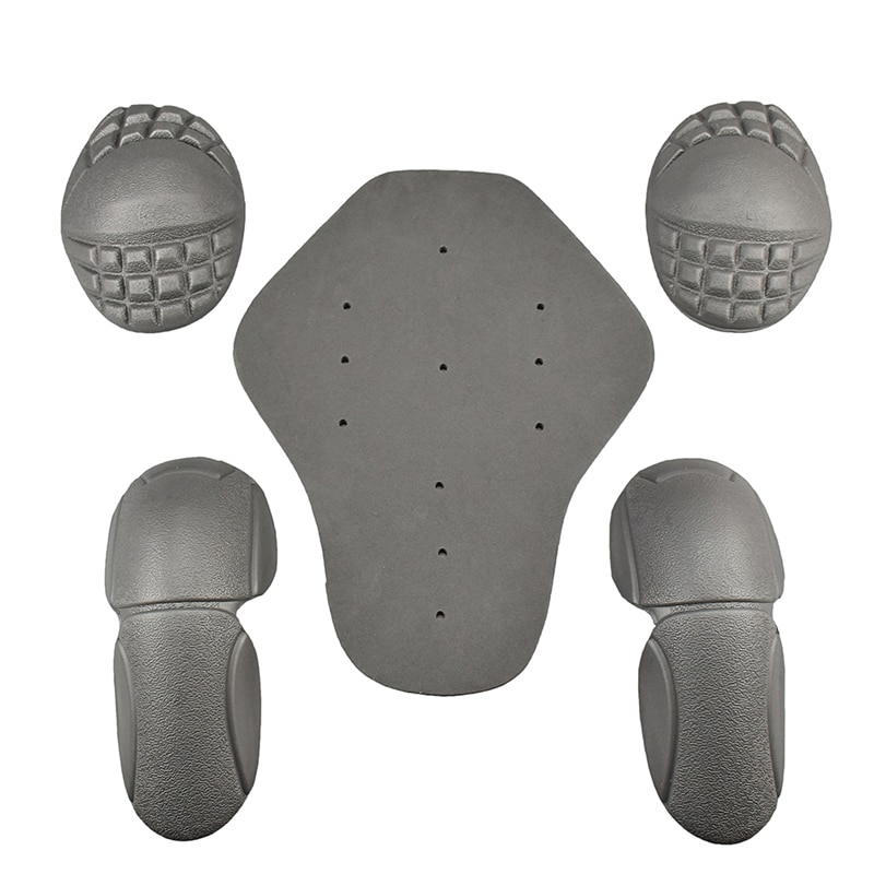 Chaqueta de moto forro hombro codo Protector trasero Pads Rider Body Armor Protector Gear accesorios de moto 5 unids/set CR-01