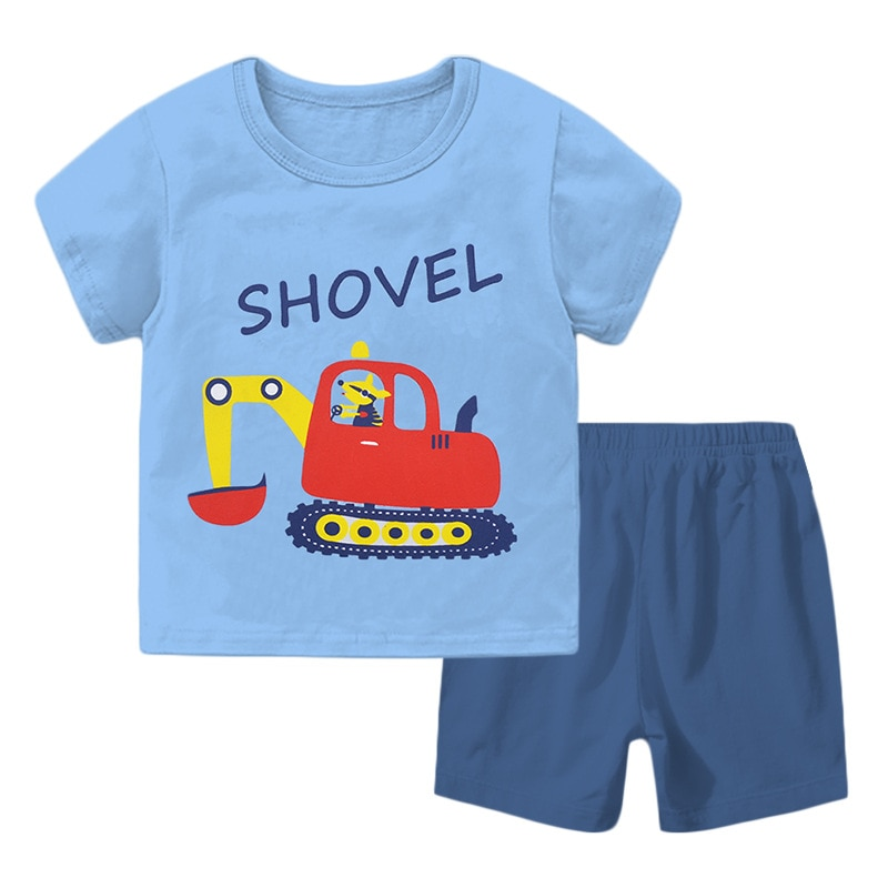 H1088 الصيف الاطفال الملابس مجموعات للبنين 3-10 سنة موضة الفتيات قصيرة الأكمام بلوزات و السراويل مدرسة الأطفال الرياضة دعوى