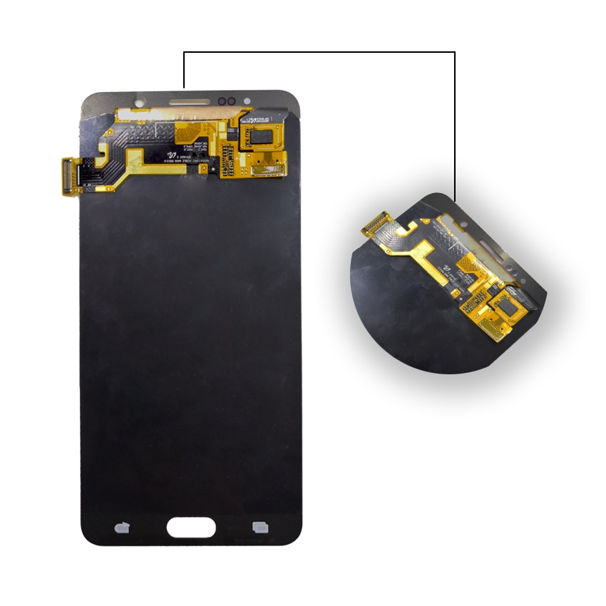 AMOLED For SAMSUNG Galaxy Note 5 Display LCD Touch Screen For SAMSUNG Note 5 Note5 N920A N9200 SM-N920 N920C Original LCD enlarge