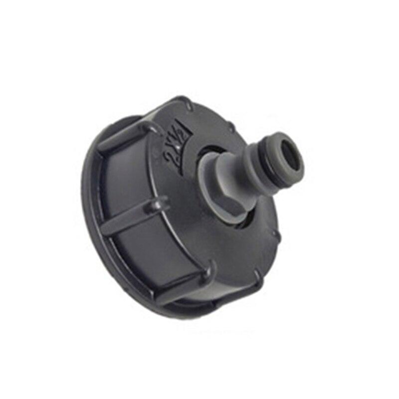 Adaptador de manguera IBC conector reductor depósito de agua 2 estándar de rosca gruesa Durable manguera de jardín tubo de almacenamiento