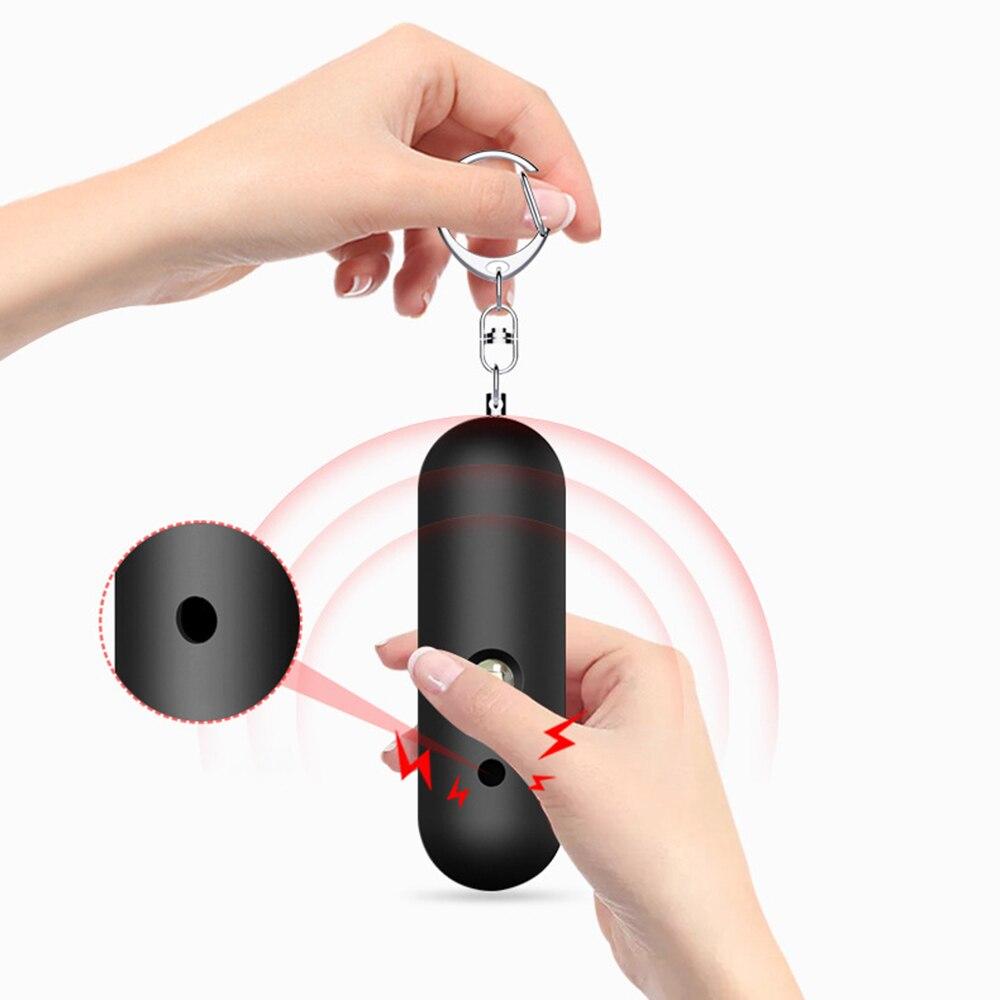 Высококачественная IP56 Водонепроницаемая миниатюрная персональная аварийная охранная сигнализация для самообороны со звуком 130 дБ